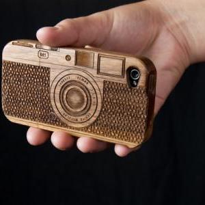 Laser-Engraved Wood IPhone Case Res..