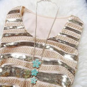Slim Sequined Sleeveless Dress MDc