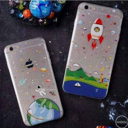 2016 Thin Soft Clear TPU Slim Carto..