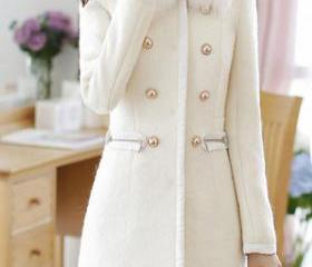 Women White Coat on Luulla