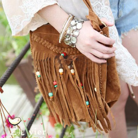 Unique Tassels Cool Shoulder Bag