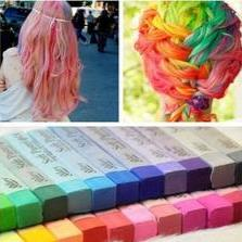 Easy Temporary 12 Colors Non-toxic Hair Chalk,Dye chalk Soft Hair Pastels Kit,12colors/set