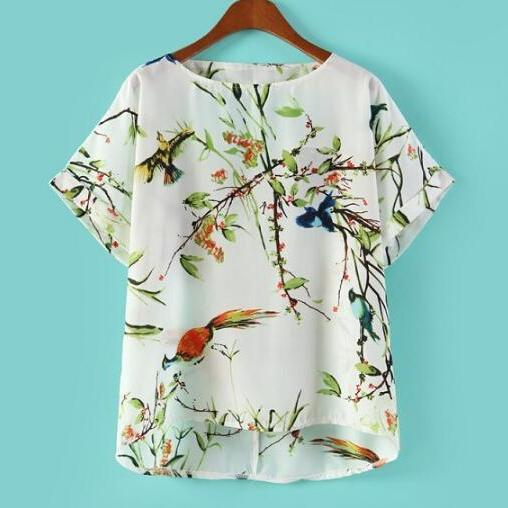 Easy Bird Blouse